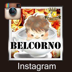 SNS link BELCORNO LatteArt Instagram